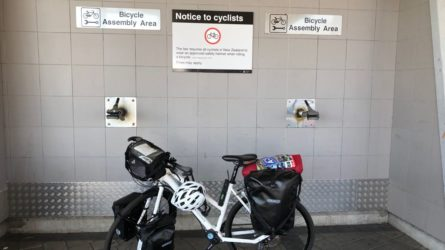 Bicycle Assembly Area